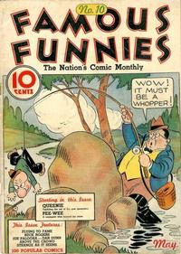 Cover Thumbnail for Famous Funnies (Eastern Color, 1934 series) #10