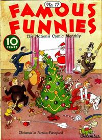 Cover Thumbnail for Famous Funnies (Eastern Color, 1934 series) #17