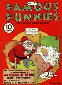 Cover Thumbnail for Famous Funnies (Eastern Color, 1934 series) #29