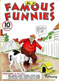 Cover Thumbnail for Famous Funnies (Eastern Color, 1934 series) #31