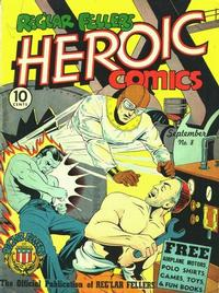 Cover Thumbnail for Reg'lar Fellers Heroic Comics (Eastern Color, 1940 series) #8