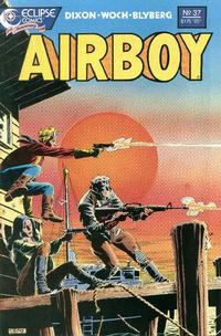 Cover Thumbnail for Airboy (Eclipse, 1986 series) #37
