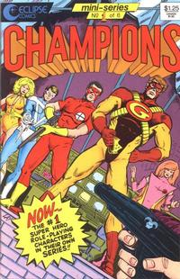 Cover for Champions (1986 series) #1