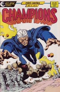 Cover for Champions (1986 series) #4