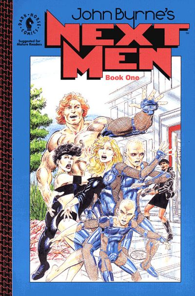 Cover for John Byrne's Next Men (Dark Horse, 1993 series) #1