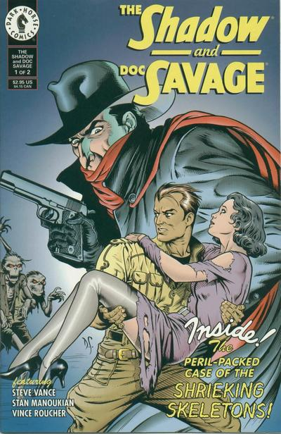 Cover for The Shadow and Doc Savage (Dark Horse, 1995 series) #1