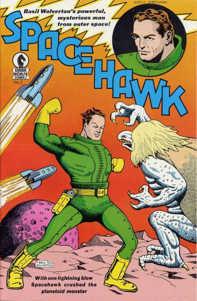 Cover for Spacehawk (1989 series) #2