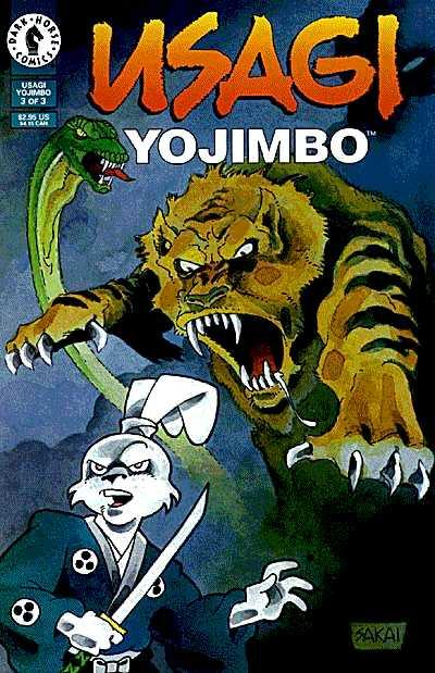 Cover for Usagi Yojimbo (Dark Horse, 1996 series) #3