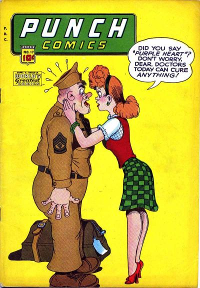 Cover for Punch Comics (Chesler / Dynamic, 1941 series) #17