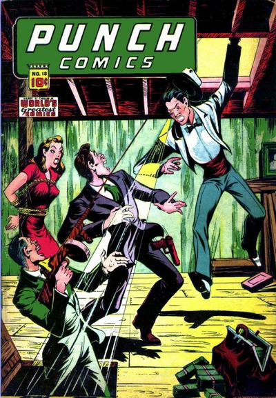Cover for Punch Comics (Chesler / Dynamic, 1941 series) #18