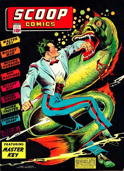 Cover for Scoop Comics (1941 series) #2