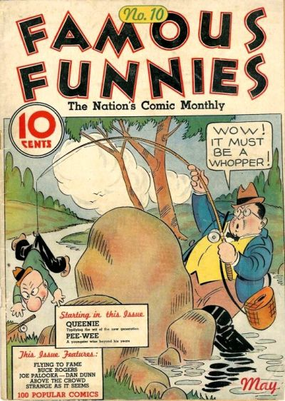 Cover for Famous Funnies (1934 series) #10