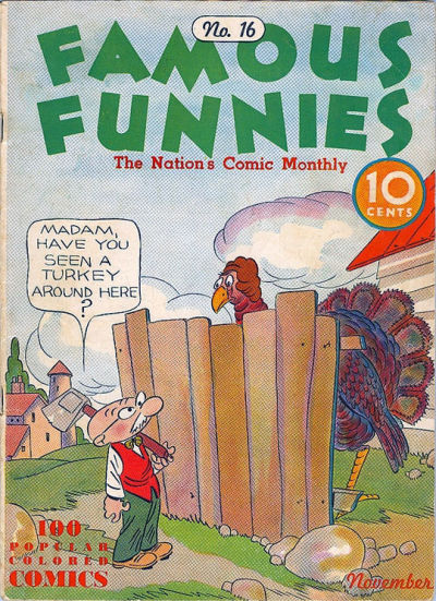 Cover for Famous Funnies (1934 series) #16