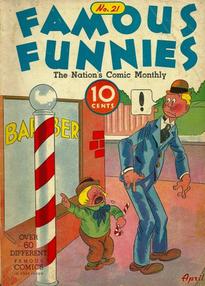Cover for Famous Funnies (Eastern Color, 1934 series) #21