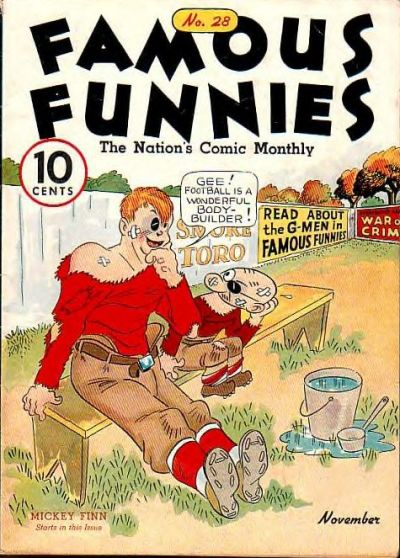 Cover for Famous Funnies (Eastern Color, 1934 series) #28