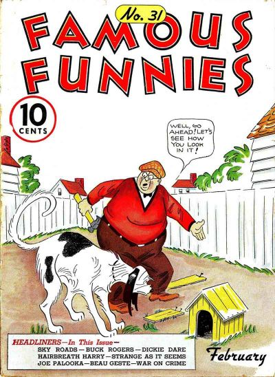 Cover for Famous Funnies (Eastern Color, 1934 series) #31