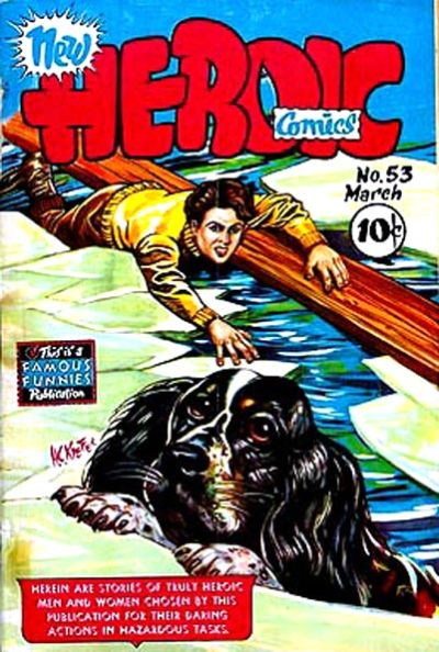 Cover for New Heroic Comics (Eastern Color, 1946 series) #53