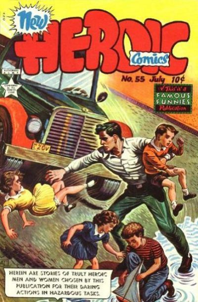Cover for New Heroic Comics (Eastern Color, 1946 series) #55