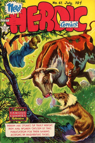 Cover for New Heroic Comics (Eastern Color, 1946 series) #61