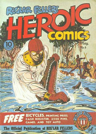 Cover for Reg'lar Fellers Heroic Comics (Eastern Color, 1940 series) #6