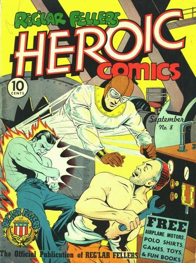 Cover for Reg'lar Fellers Heroic Comics (Eastern Color, 1940 series) #8