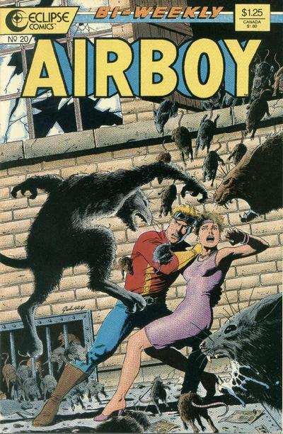 Cover for Airboy (1986 series) #20