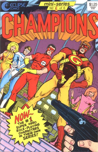 Cover for Champions (Eclipse, 1986 series) #1