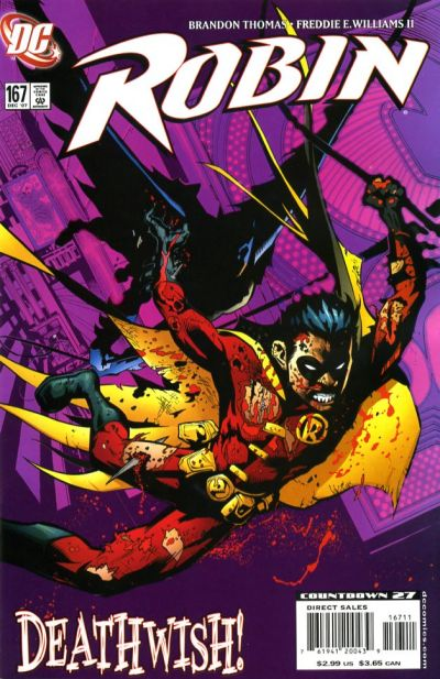 Cover for Robin (DC, 1993 series) #167