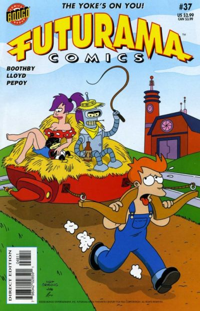 Cover for Bongo Comics Presents Futurama Comics (Bongo, 2000 series) #37