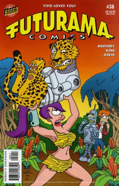 Cover for Bongo Comics Presents Futurama Comics (2000 series) #38