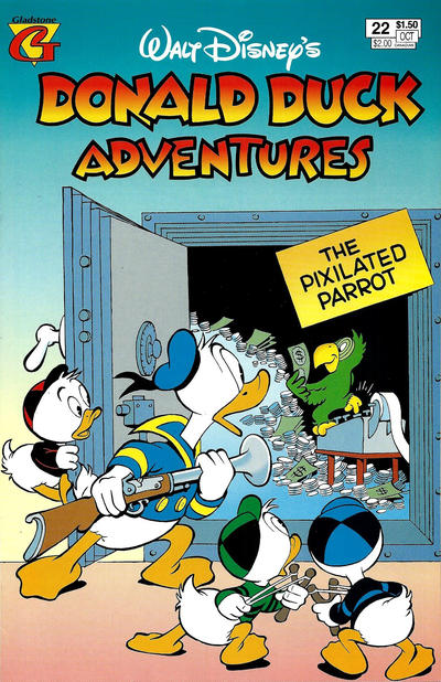 Cover for Walt Disney's Donald Duck Adventures (Gladstone, 1993 series) #22