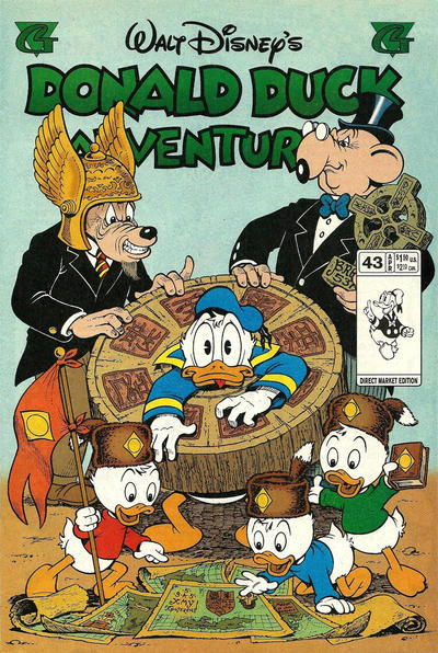 Cover for Walt Disney's Donald Duck Adventures (Gladstone, 1993 series) #43