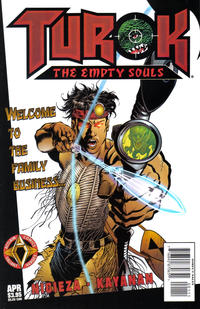 Cover for Turok: The Empty Souls (1997 series) #1 [Regular Cover]