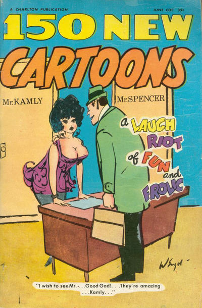 Cover for 150 New Cartoons (1962 series) #34