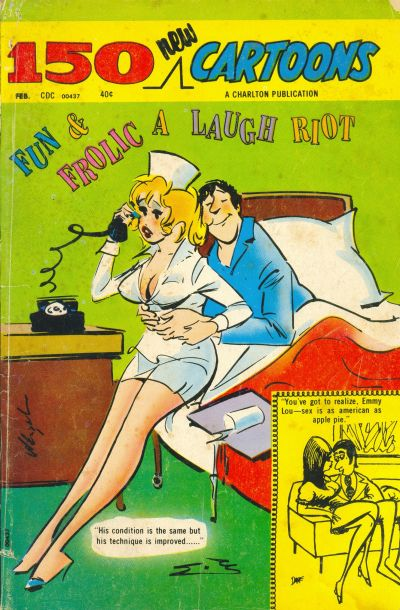 Cover for 150 New Cartoons (Charlton, 1962 series) #50