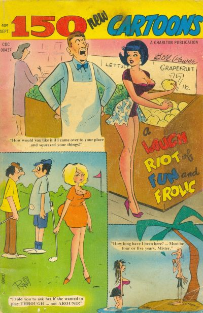 Cover for 150 New Cartoons (1962 series) #54