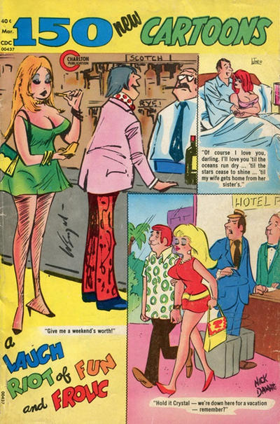Cover for 150 New Cartoons (Charlton, 1962 series) #56