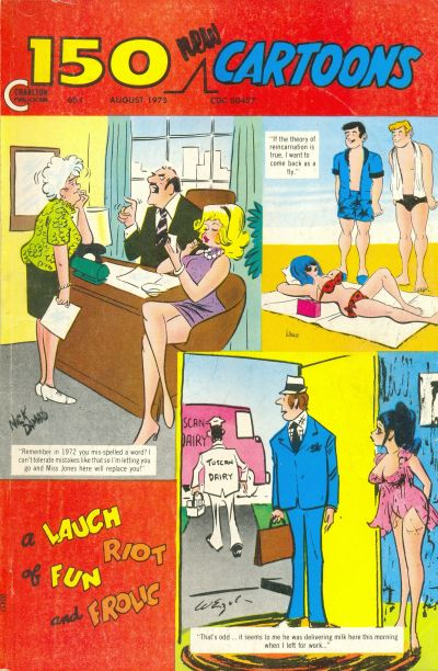 Cover for 150 New Cartoons (Charlton, 1962 series) #64