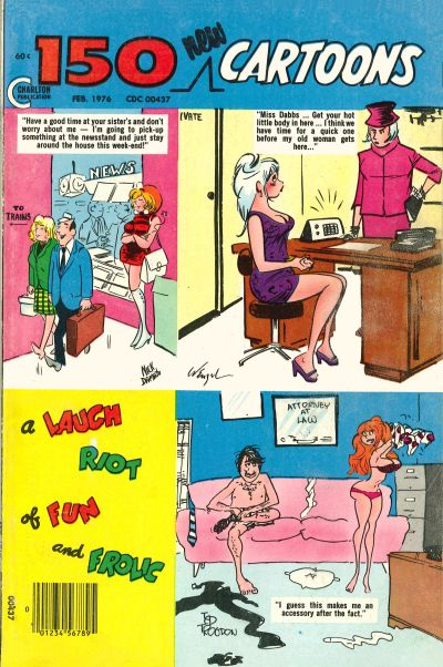 Cover for 150 New Cartoons (Charlton, 1962 series) #67
