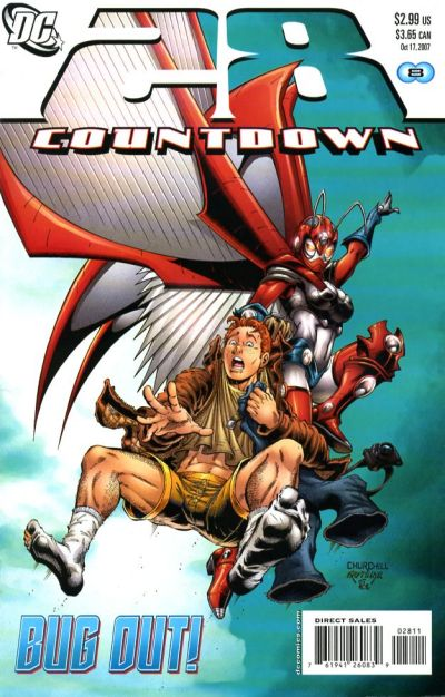 Cover for Countdown (2007 series) #28