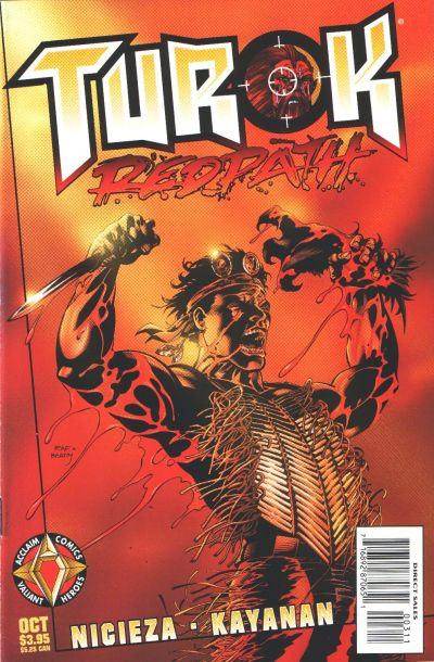Cover for Turok Redpath (Acclaim / Valiant, 1997 series) #1