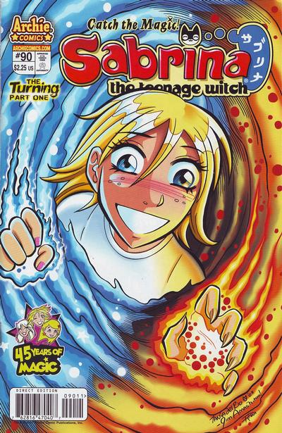 Cover for Sabrina the Teenage Witch (Archie, 2003 series) #90
