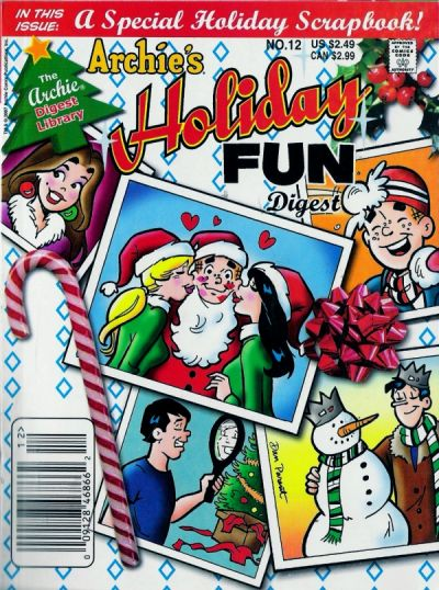 Cover for Archie's Holiday Fun Digest (Archie, 1997 series) #12 [Newsstand]