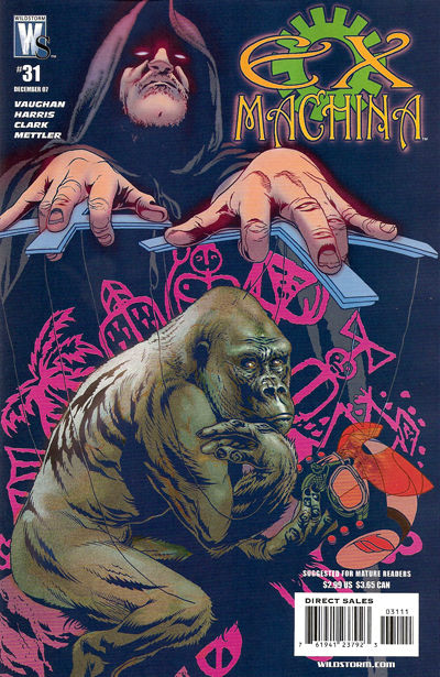 Cover for Ex Machina (DC, 2004 series) #31