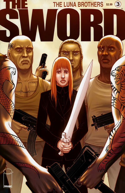 Cover for The Sword (Image, 2007 series) #3