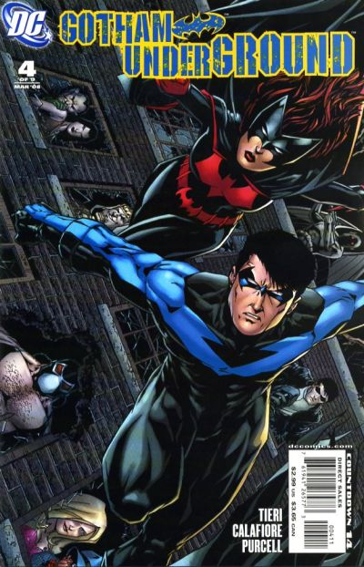 Cover for Gotham Underground (DC, 2007 series) #4