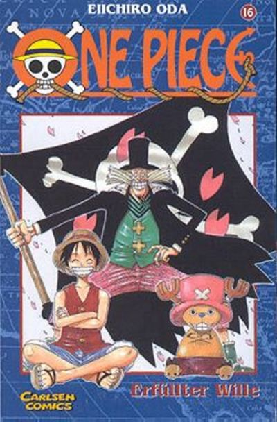 Cover for One Piece (Carlsen Comics [DE], 2001 series) #16