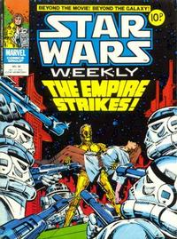 Cover for Star Wars Weekly (Marvel UK, 1978 series) #36