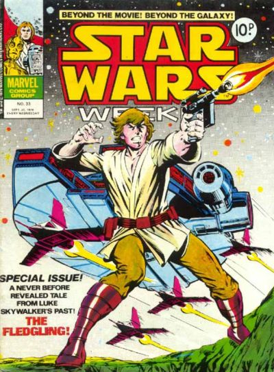 Cover for Star Wars Weekly (Marvel UK, 1978 series) #33