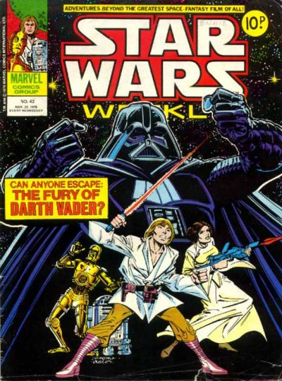 Cover for Star Wars Weekly (Marvel UK, 1978 series) #42